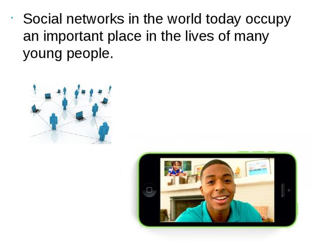 Social networks in the world today occupy an important place in the lives of...