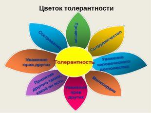 Цветок толерантности