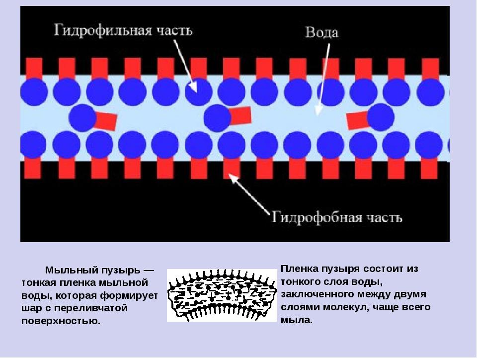 Мыльный пузырь — тонкая пленка мыльной воды, которая формирует шар с перелив...