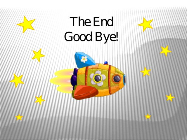 The End Good Bye!
