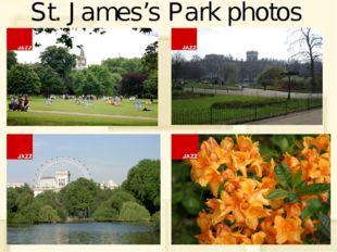 St. James's Park photos