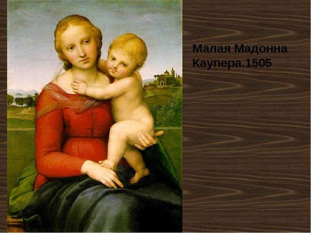 Малая Мадонна Каупера.1505