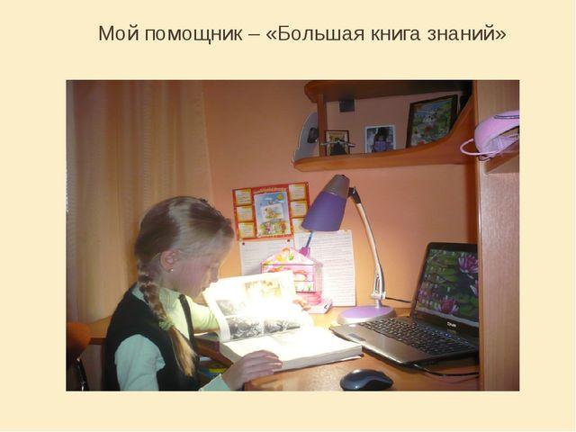 Мой помощник – «Большая книга знаний»
