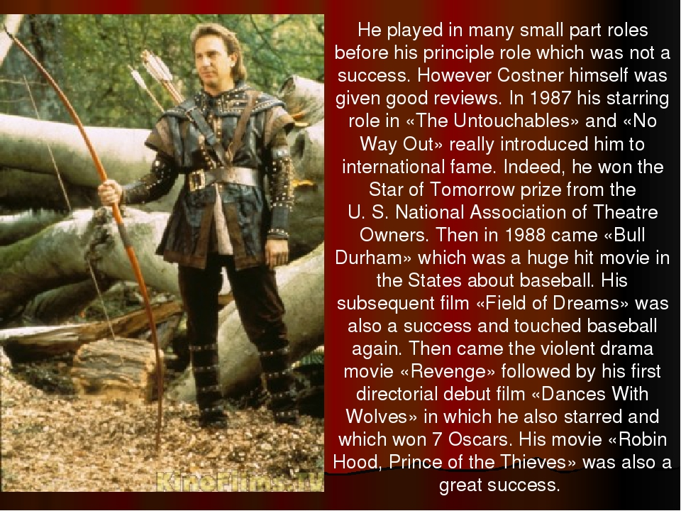 He played in many small part roles before his principle role which was not a...