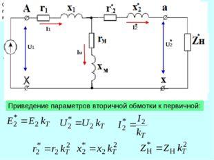 Схема замещения Схемой замещения - называется графическое изображение эл. цеп