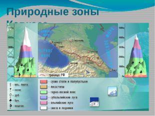 Природные зоны Кавказа