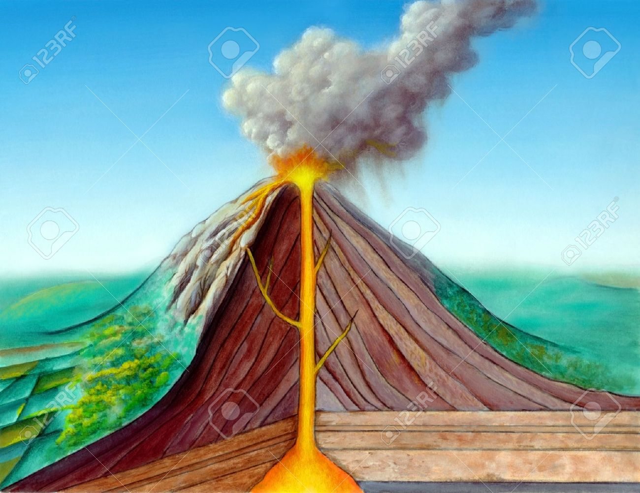 an analysis of the destructive power of a volcano as one of the most violent and deadly of all natur From the destructive power of and it is one that risks a highly violent and energetic event in see a volcano erupt, or visit a dormant one it would be.