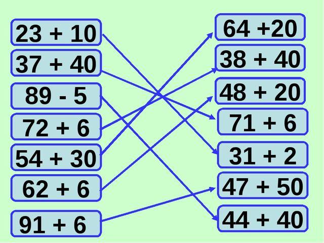 23 + 10 37 + 40 72 + 6 54 + 30 62 + 6 91 + 6 44 + 40 47 + 50 31 + 2 71 + 6 48...