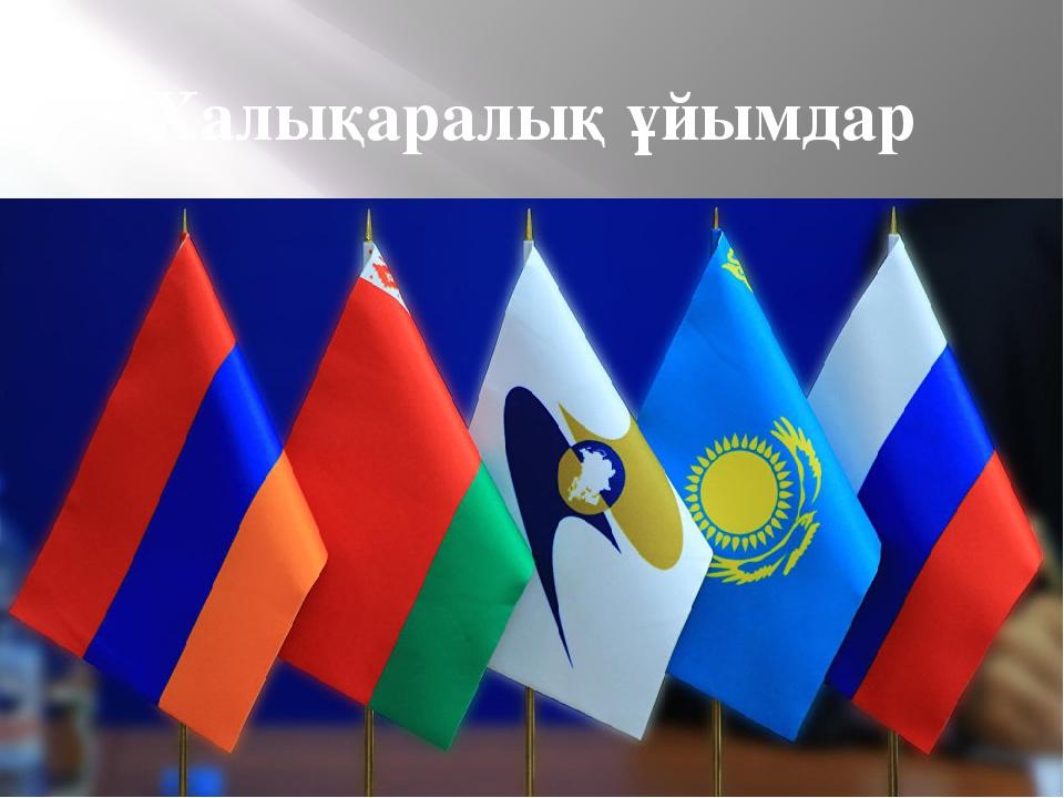 Халықаралық ұйымдар