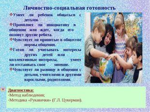 Умеет ли ребенок общаться с детьми. Проявляет ли инициативу в общении или ж