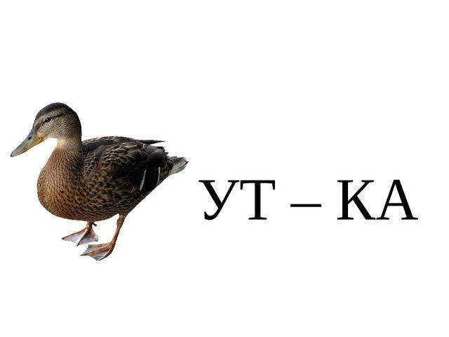 УТ – КА