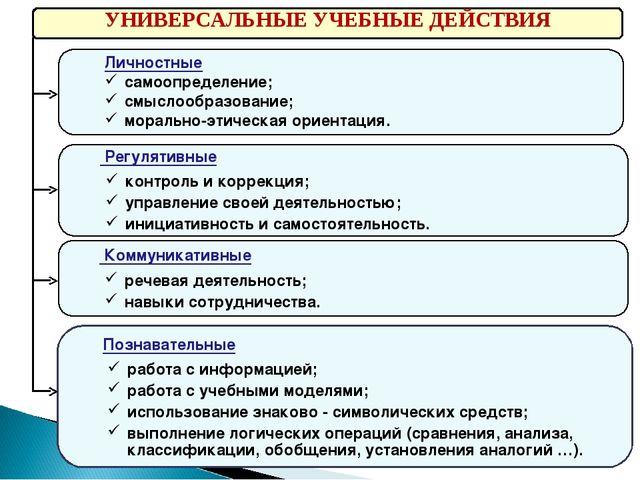 Познавательные работа с информацией; работа с учебными моделями; использован...