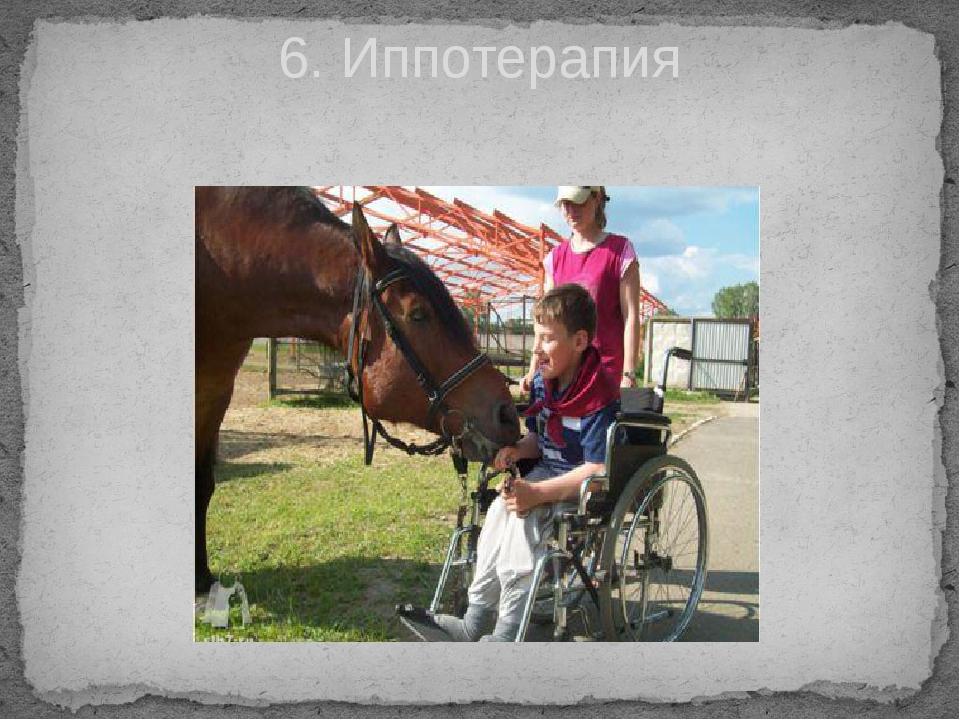 6. Иппотерапия