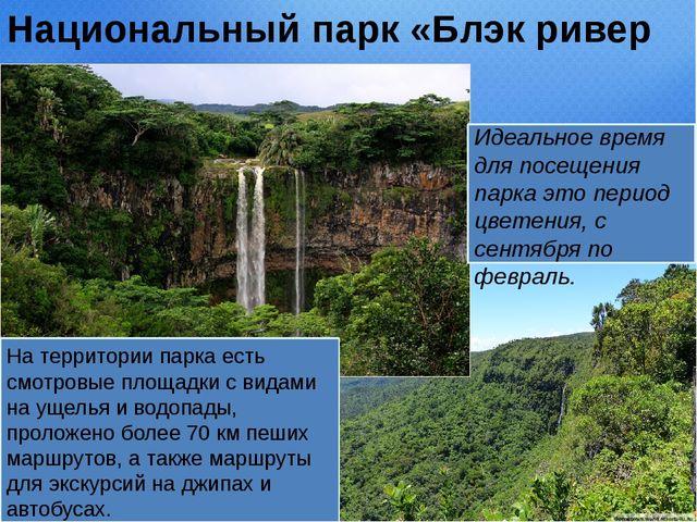 Национальный парк «Блэк ривер горджес» На территории парка есть смотровые пло...