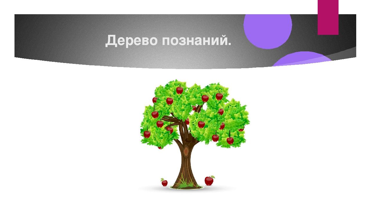 Дерево познаний.