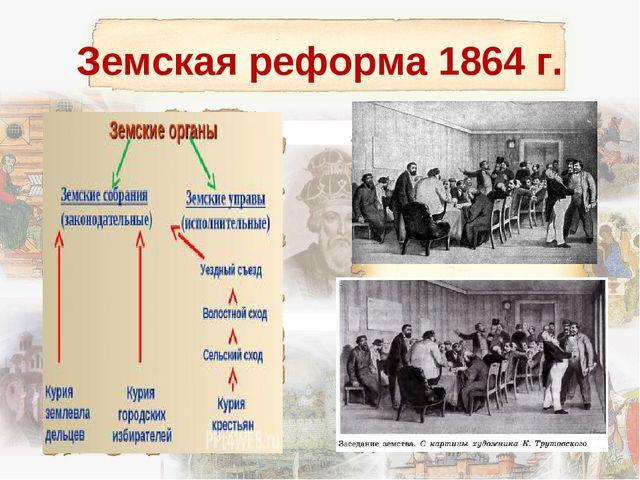 Земская реформа 1864 г.