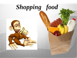 Shopping food