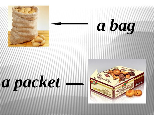 a bag a packet