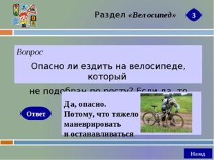 Вопрос Почему велосипедисту надо быть предельно осторожным при осеннем листоп