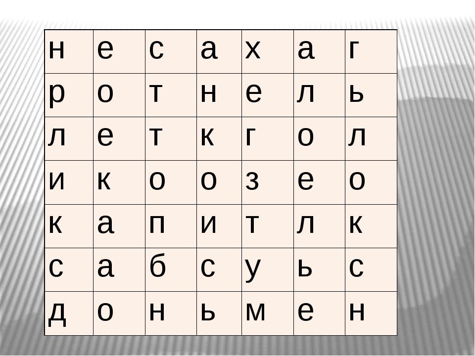 н е с а х а г р о т н е л ь л е т к г о л и к о о з е о к а п и т л к с а б с...