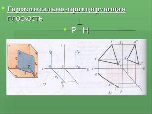 Горизонтально-проецирующая плоскость Р Н