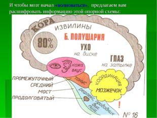 И чтобы мозг начал «волноваться», предлагаем вам расшифровать информацию этой