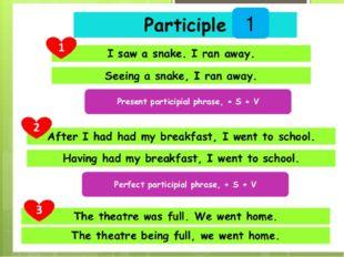 Participle 1 1