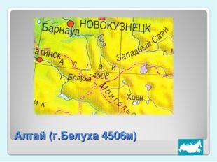 Алтай (г.Белуха 4506м)