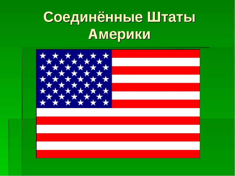 Соединённые Штаты Америки