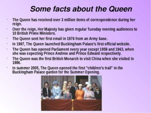 The Queen has received over 3 million items of correspondence during her reig