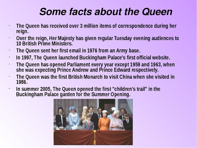The Queen has received over 3 million items of correspondence during her reig...
