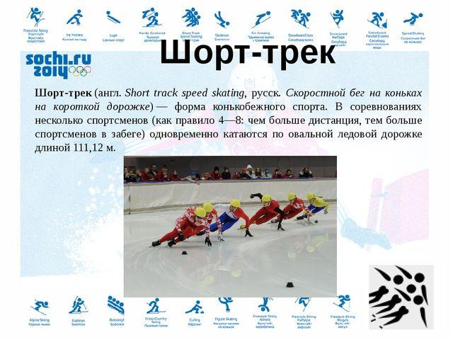 Cкелетон (англ.skeleton— скелет, каркас)— зимний олимпийский вид спорта,...