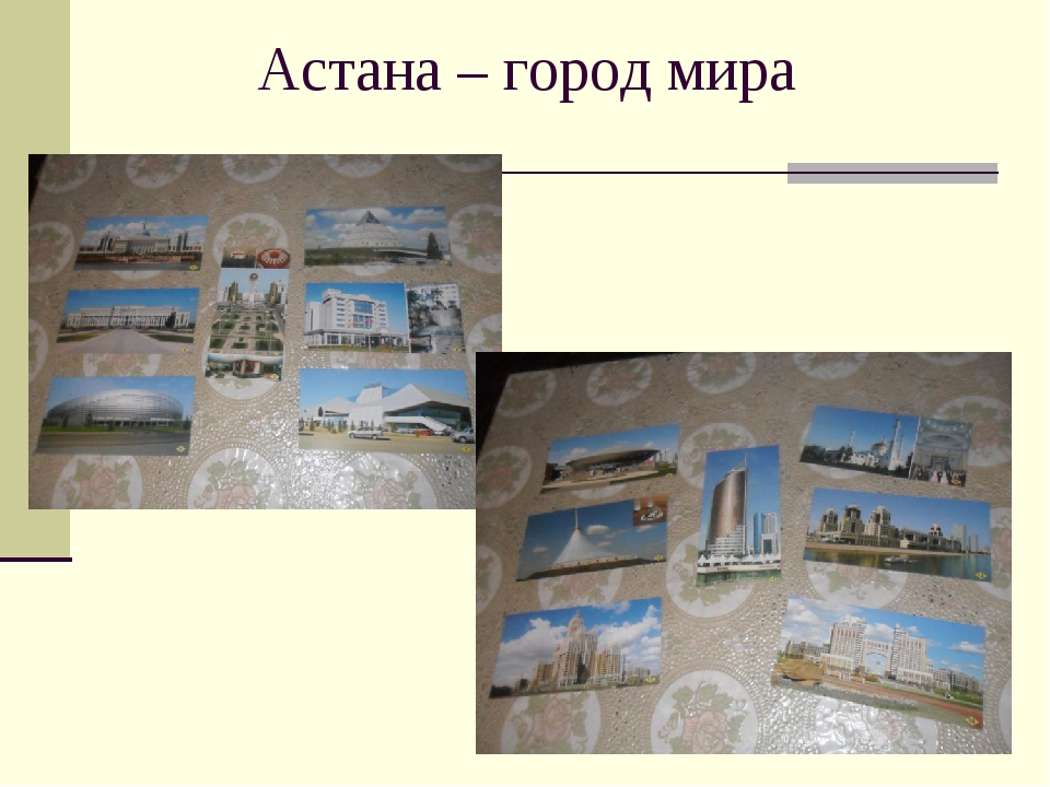 Астана – город мира