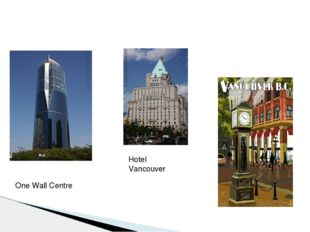 Hotel Vancouver One Wall Centre