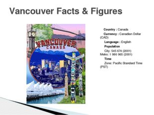 Country :Canada Currency :Canadian Dollar (CAD) Language :English Populat