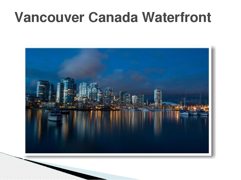 Vancouver Canada Waterfront