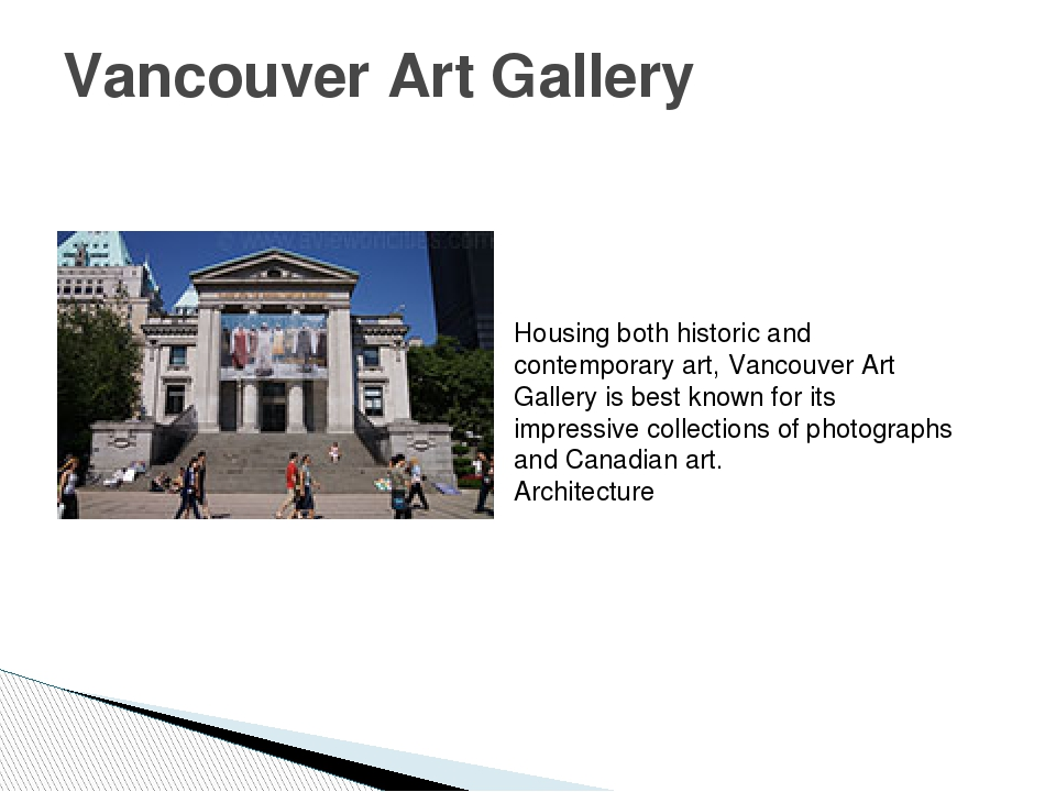 Vancouver Art Gallery Housing both historic and contemporary art, Vancouver A...