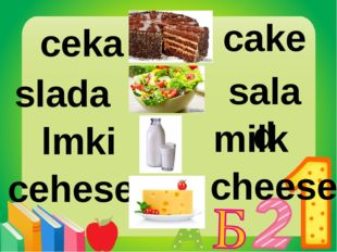ceka slada lmki cehese cake salad milk cheese