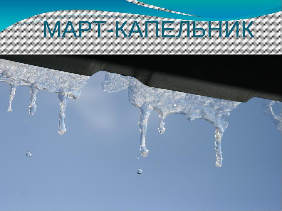 МАРТ-КАПЕЛЬНИК
