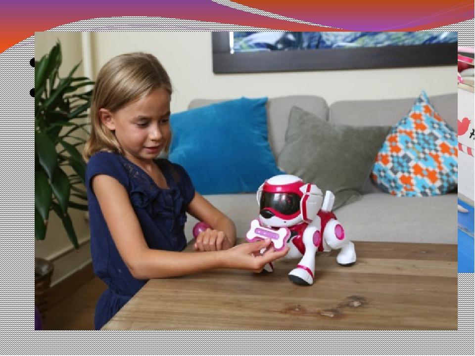Подопытный пес Робот-щенок – лучший подарок для детей, мечтающих о животном...