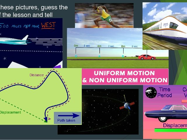 Look at these pictures, guess the theme of the lesson and tell