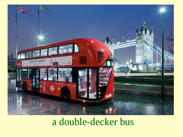 a double-decker bus