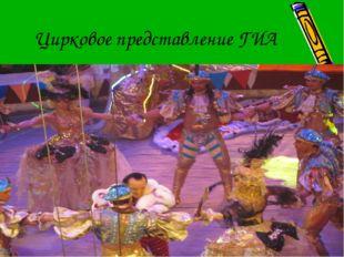 Цирковое представление ГИА
