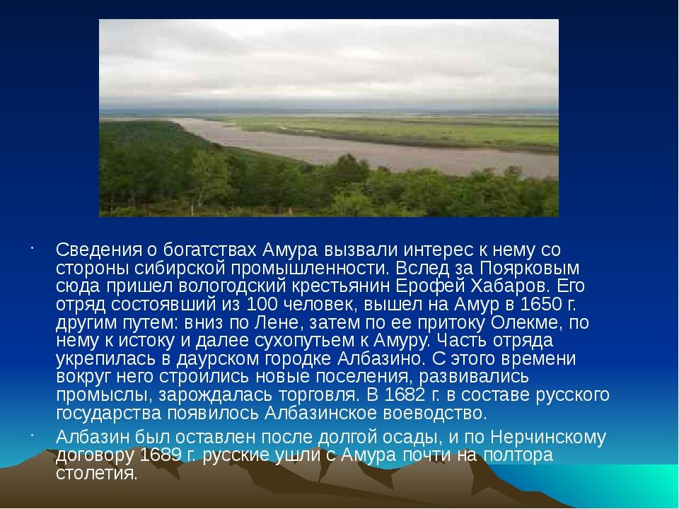 Сведения о богатствах Амура вызвали интерес к нему со стороны сибирской промы...