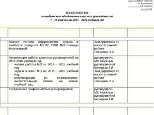 Утверждаю: директор МБОУ СОШ №3 ст. Фастовецкой ___________А.В. Батютин 26.0