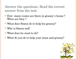 Answer the questions. Read the correct answer from the text. How many rooms a
