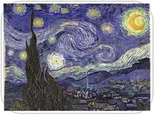 Основные характеристики произведений В. Ван Гога 1) экспрессивная нервозность