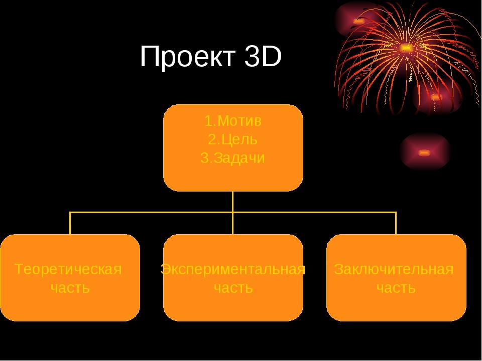 Проект 3D