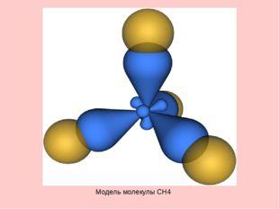 Модель молекулы CH4