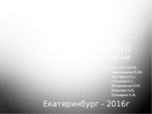 ГАОУ ДПО СО «институт развития образования» Формирование Коммуникативных УУД